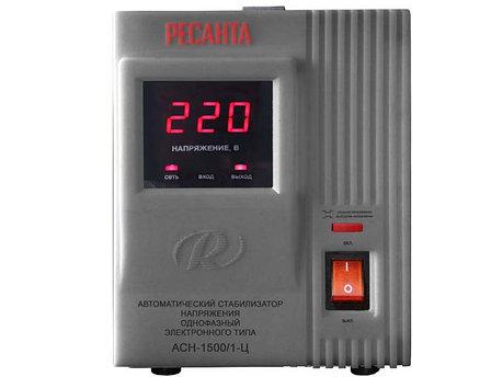 Стабилизатор напряжения РЕСАНТА ACH-1500/1-Ц, фото 2