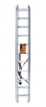 Лестница алюминиевая ВИХРЬ ЛА 3х11, фото 2