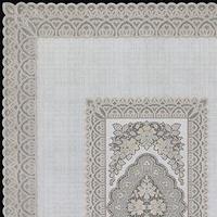 Скатерть столовая 'Ажурная' Imperial, 140 х 200 см, 10 шт в рулоне, цвет бежевый