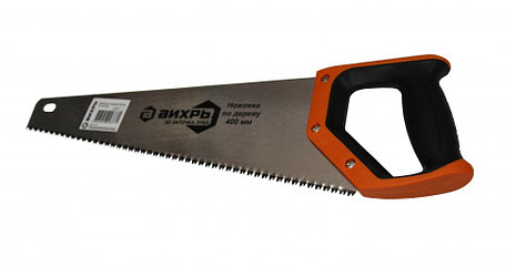 Ножовка по дереву ВИХРЬ 400 мм 3D заточка, фото 2