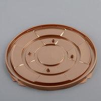 Тортница одноразовая ПР-Т-193, дно 22,5 см, цвет золотой, 200 шт/уп. (комплект из 200 шт.)