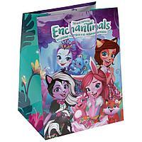 """Подарочный пакет Бумажный """"Enchantimals"""", 33х46х20 см. CLRBG-ENCH2-03"""