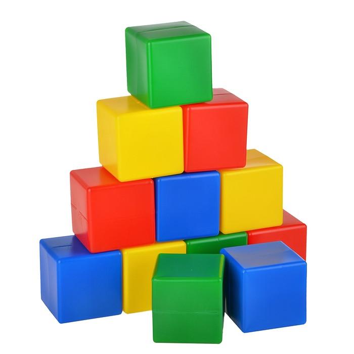 Набор кубиков 12 эл.