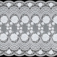 Салфетка 'Ажурная', 50 см, цвет рулон 20 п. м, цвет белый (комплект из 6 шт.)