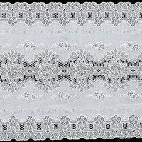 Салфетка 'Ажурная', 50 см, цвет рулон 20 п. м, цвет сепия/бежевый (комплект из 6 шт.)