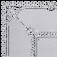 Скатерть столовая 'Ажурная' Pretty, 120 х 150 см, 10 шт в рулоне, цвет бежевый