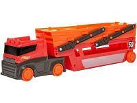 Модель Hot Wheels Мега-трейлер красный