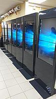 Информационная инфостойка стенд 55 дюймов для учебных учреждений