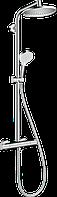 Душевая система с термостатом для душа Crometta S Showerpipe 240 1jet 27267000