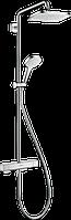 Душевая система с термостатом для душа Croma E Showerpipe 280 1jet 27630000