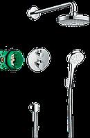 Душевая система скрытого монтажа с термостатом для душа Ecostat S Croma Select S 27295000