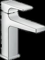 Смеситель для раковины 110, однорычажный, рычаговая рукоятка, донный клапан Push-Open Metropol 32507000