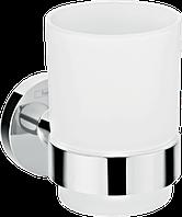 Стакан для зубных щеток с держателем Logis Universal HG41718000