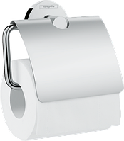 Держатель рулона туалетной бумаги с крышкой Logis Universal