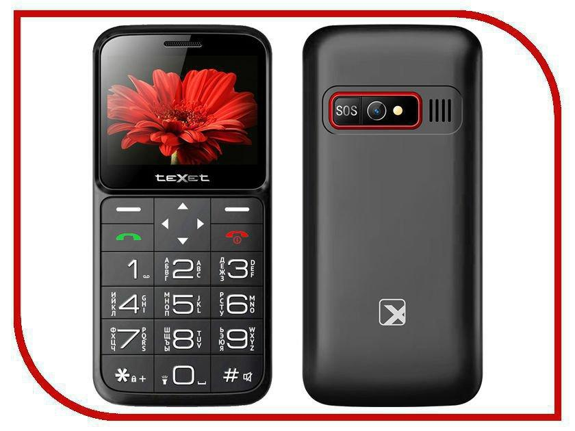Мобильный телефон Texet TM-B226 черный-красный