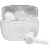 Беспроводные Bleutooth наушники JBL, белые