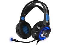 Наушники CROWN CMGH-3101 черный-синий