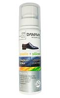 """Крем - краска для обуви """"DAMAVIK"""" силикон + ланолин, бесцветная, 75мл."""