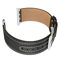 Ремешок Hoco WB04 Duke series leather strap для Apple Watch 40 mm черный