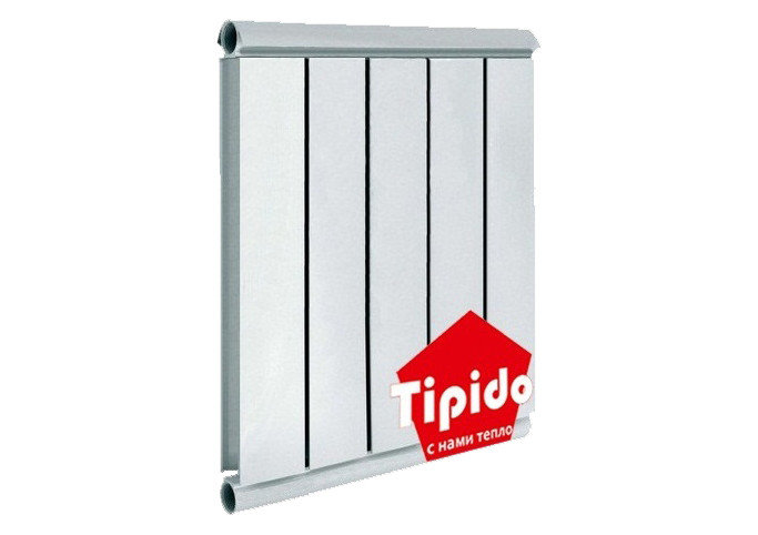 Алюминиевый радиатор TIPIDO 500/1