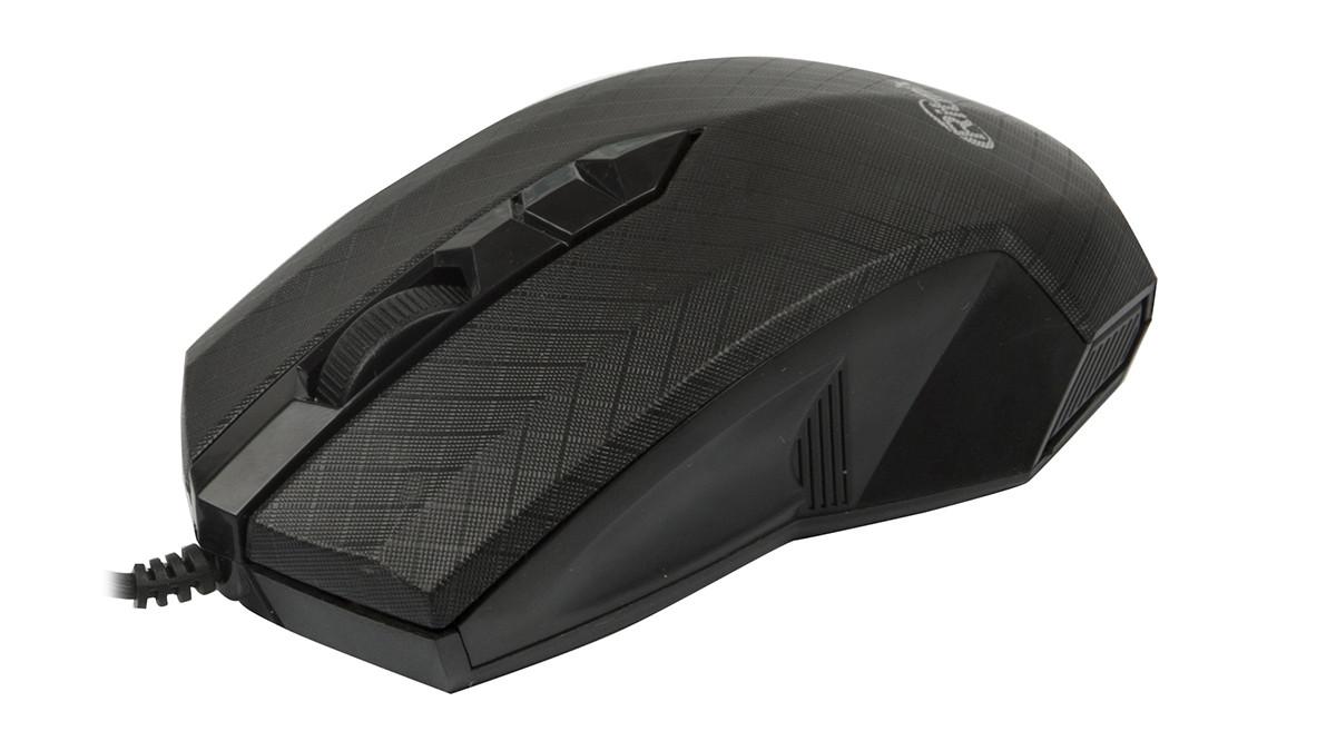 Мышь проводная Ritmix ROM-202 черный