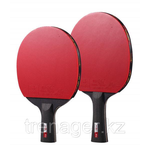 Ракетка для настольного тенниса Double Fish Black Carbon (5-Stars)