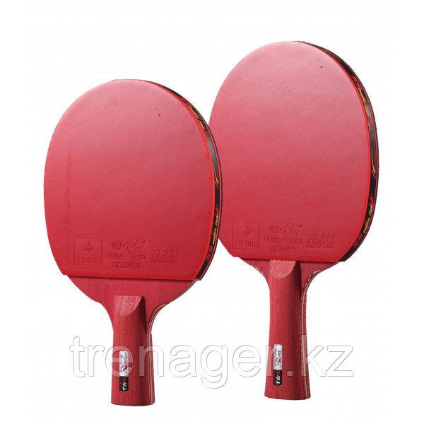 Ракетка для настольного тенниса Double Fish Red Carbon (3-Stars)
