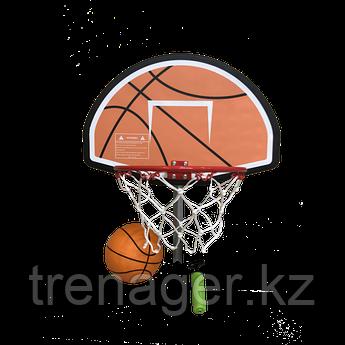 Баскетбольный щит с кольцом для батутов