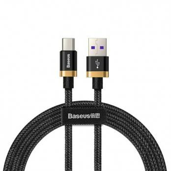 Baseus Purple Gold Red HW flash charge cable USB For Type-C 40W 1m