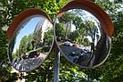 Сферическое  обзорное  дорожное выпуклое зеркало  600 мм, фото 6