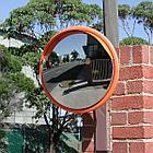 Сферическое  обзорное  дорожное выпуклое зеркало  600 мм, фото 7