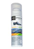 """Крем - краска для обуви """"DAMAVIK"""" силикон + ланолин, чёрная, 75 мл."""