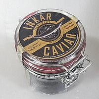 Икра осетровая черная зернистая баночная Inkar Imperial Caviar малосол 250 гр