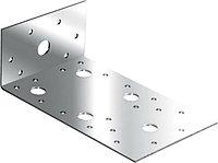 Уголок крепежный асимметричный 2,0 мм KUAS 130*50*65 мм