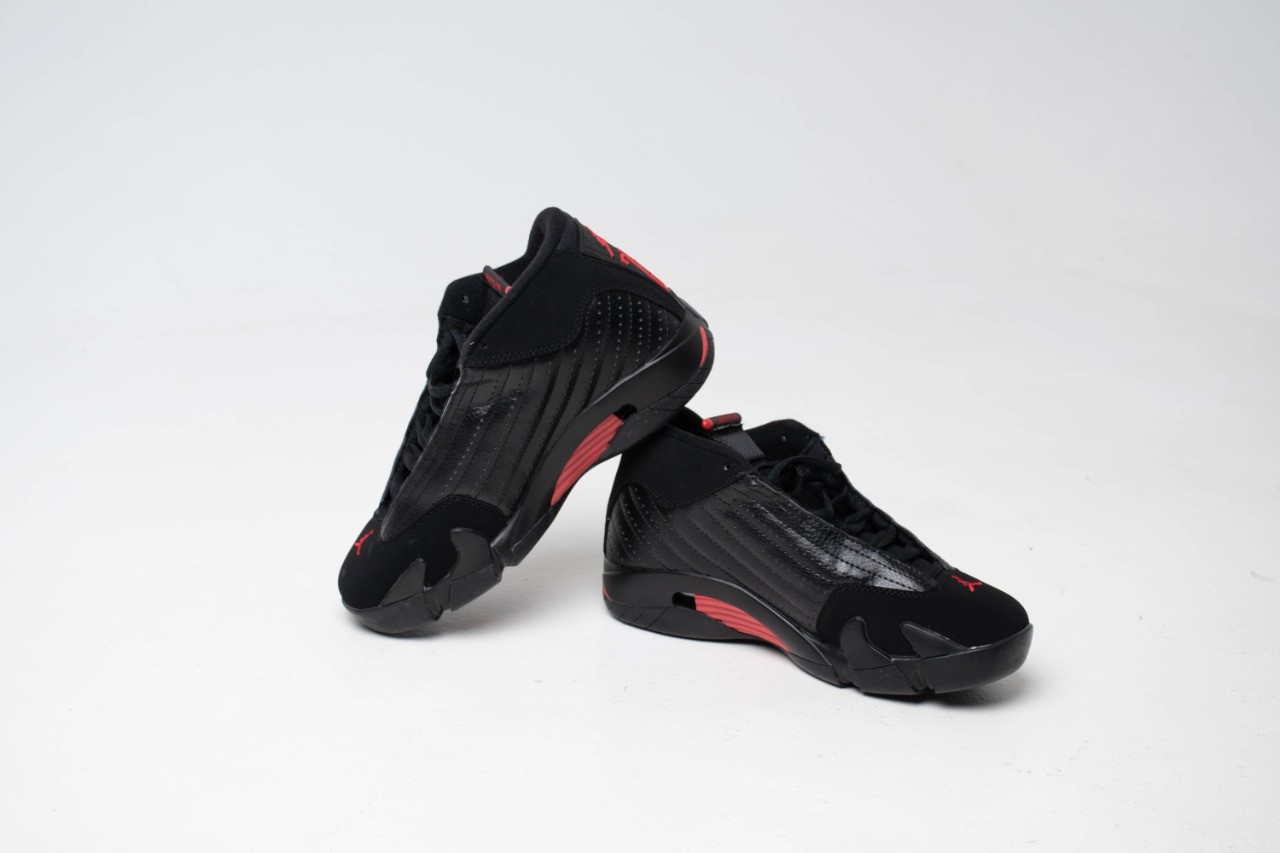 Кроссовки Air Jordan 14 Black - фото 1