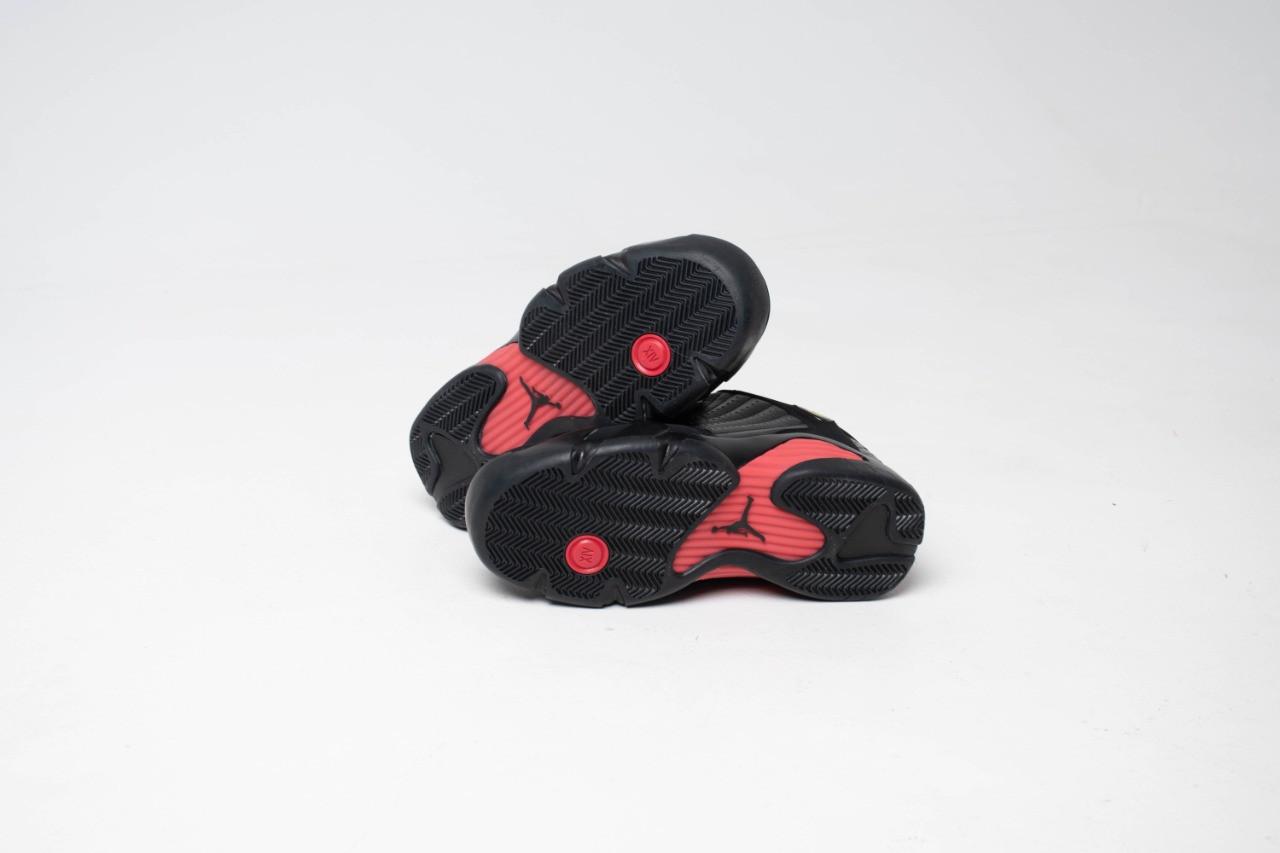 Кроссовки Air Jordan 14 Black - фото 2