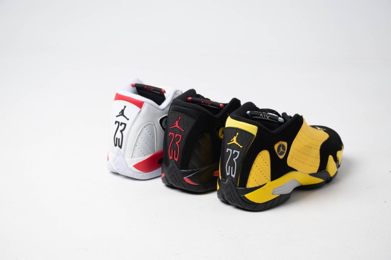 Кроссовки Air Jordan 14 Black - фото 7
