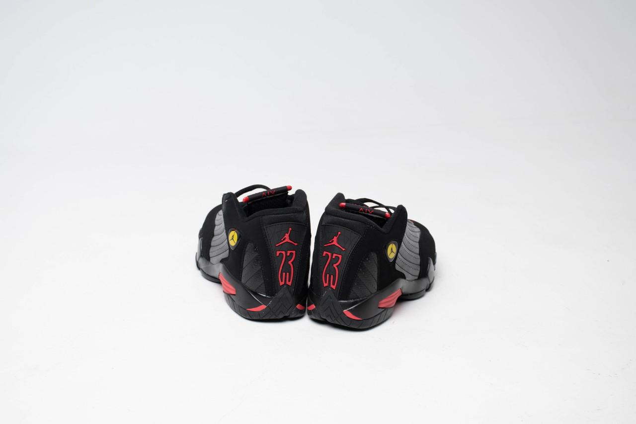 Кроссовки Air Jordan 14 Black - фото 3