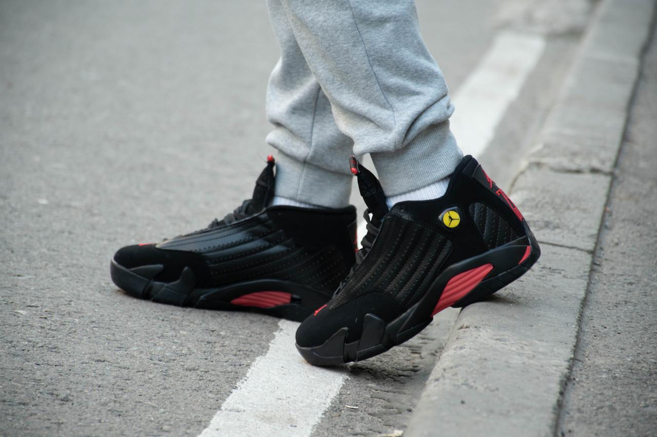 Кроссовки Air Jordan 14 Black - фото 5