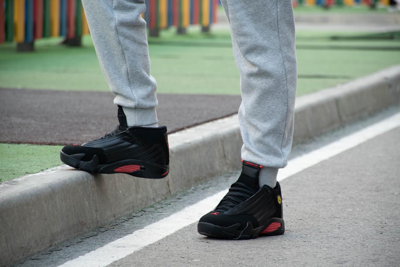 Кроссовки Air Jordan 14 Black - фото 6