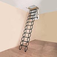 Металлическая чердачная лестница Flex Termo Oman 80х70х290 см Польша Whats Upp. 87075705151