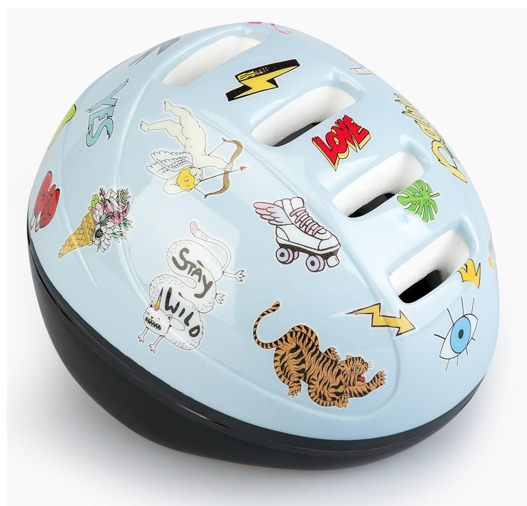 Шлем защитный Happy Baby STONEHEAD size S Llight grey
