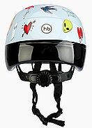 Шлем защитный Happy Baby STONEHEAD size S Llight grey, фото 4