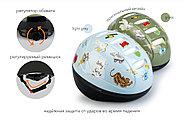 Шлем защитный Happy Baby STONEHEAD size S Llight grey, фото 5