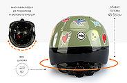 Шлем защитный Happy Baby STONEHEAD size S Llight grey, фото 6