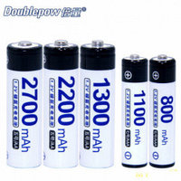 Аккумуляторы Ni-MH Doublepow AAA/AA 2700mah , 1 шт
