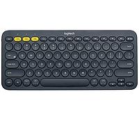 Клавиатура беспроводная Logitech K380 (DARK GREY, Multi-Device, Bluetooth Classic (3.0), 2 батарейки типа ААА)