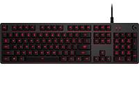 Клавиатура игровая Logitech G413 CARBON (механическая, красная подсветка)
