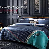Комплект постельного белья двуспальный HERMES сатин LUX