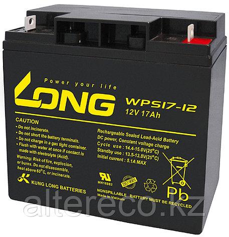 Аккумулятор LONG WPS17-12 (12В, 17Ач), фото 2